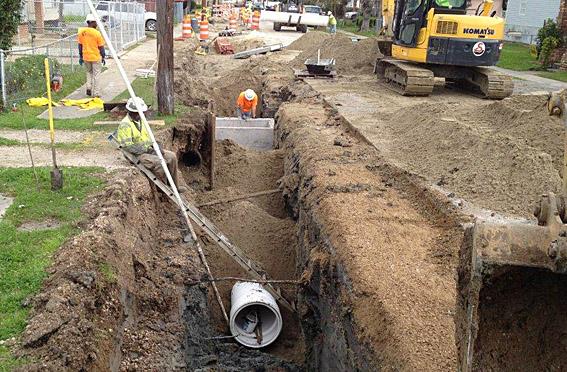 Subterranean Construction uses A-2000 PVC on Parish Drainage