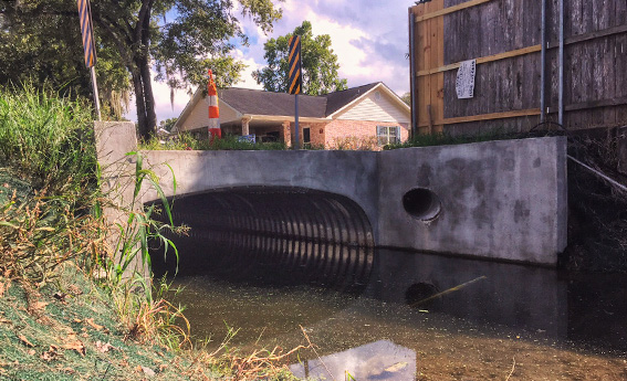 Contech Aluminum Box Culverts Installed on Canal Project