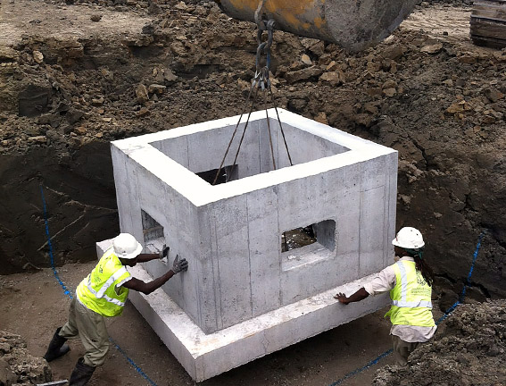 precast concrete catch basin choice image